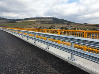 Crash Barrier Systems for D1 Highway, Slovakia, 2019